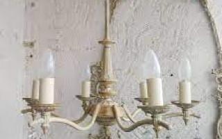 Люстры в стиле прованс — элегантность и изысканный декор