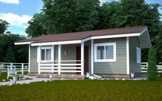 Проектирование одноэтажного каркасного дома