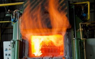 Введение в эксплуатацию пламенных печей