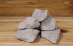 Подбор камней для печи-каменки