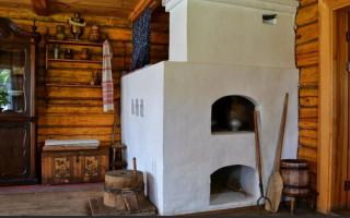 Русская печь в частных домах