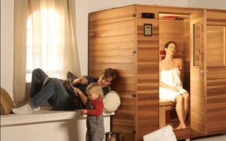 Оборудуем мини-баню в доме