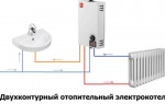 Количество водяных контуров при выборе газового котла