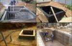 Как построить дачный погреб