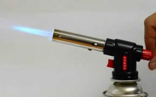 Газовые горелки: виды и классификация
