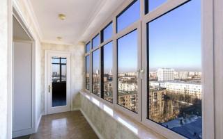 Виды балконных парапетов