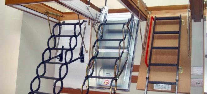 Виды и преимущества чердачных лестниц