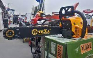 Бензопила Тexa основные преимущества