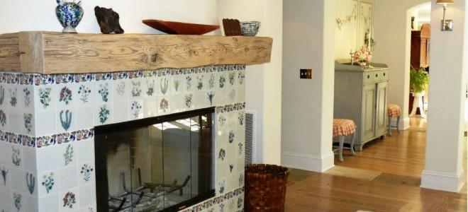 Особенности отделки и облицовки каминов плиткой, камнем, кирпичом
