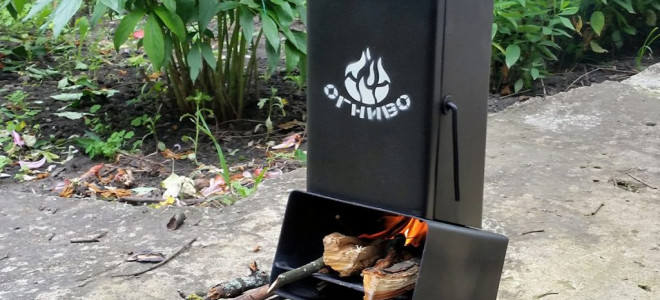 Ракетная печь для отопления, варианты конструкции