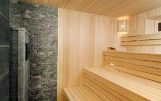 Виды стен для бани
