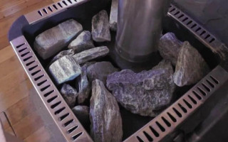 Где размещаюи камни для печи-каменки